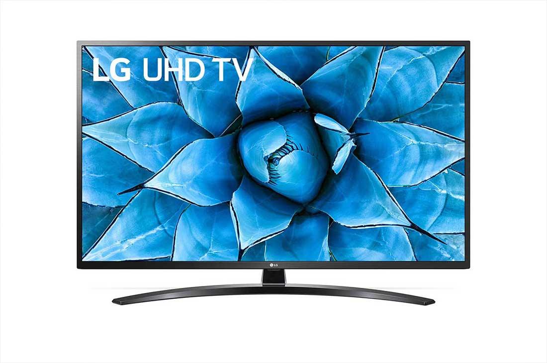 تلفزيون ال جي 55 بوصة الذكي  LED بتقنية UHD ودقة 4K مع  رسيفر بلت ان - 55UN7440PVA