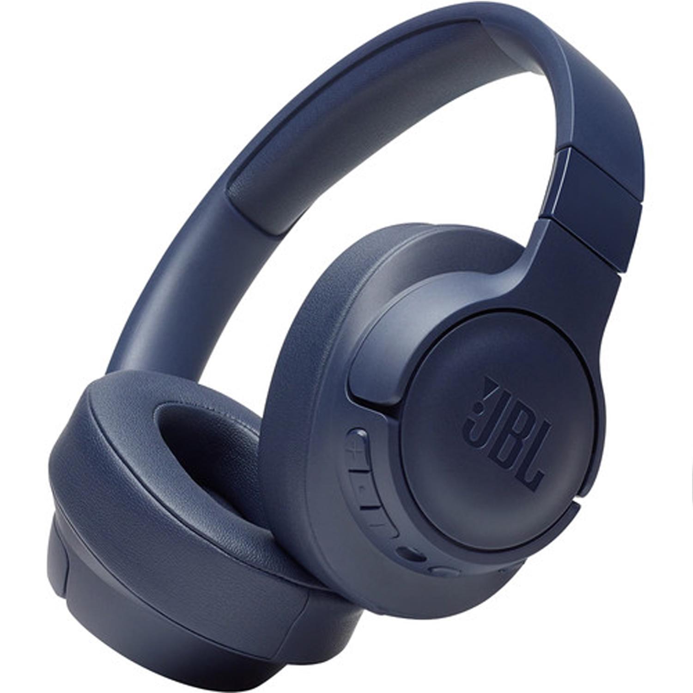 جي بي إل   JBL سماعات لاسلكية فوق الاذن مع خاصية الغاء الضوضاء النشطة - ازرق - (عبوة  قطعتين) - JBLT750BTNCBLU
