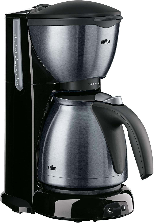 براون محضر قهوة كافيه هاوس لون أسود KF610